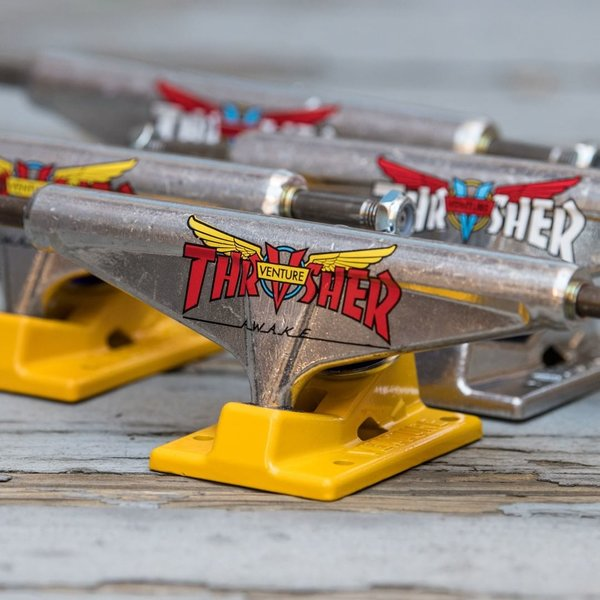 Venture X Thrasher Collab Trucks