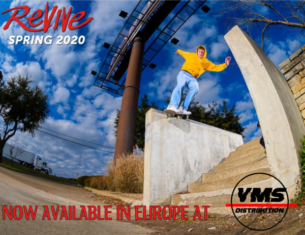 Vamos Skateshop Europe NEW STUFF - Revive Spring 2020