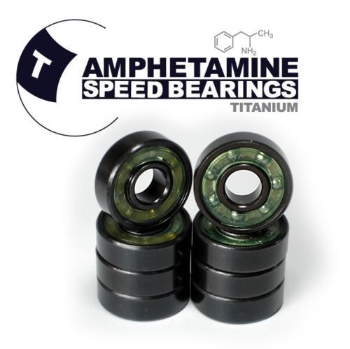 AMPHETAMINE SPEED BEARINGS - TITANIUM