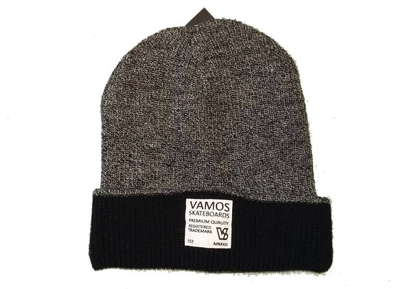 VS TRADEMARK BEANIE Grey & Black