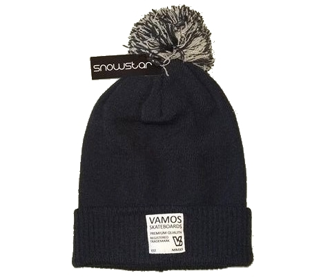 VS TRADEMARK BEANIE Navy & Grey