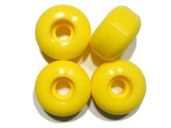 BLANK WHEELS Yellow 54mm