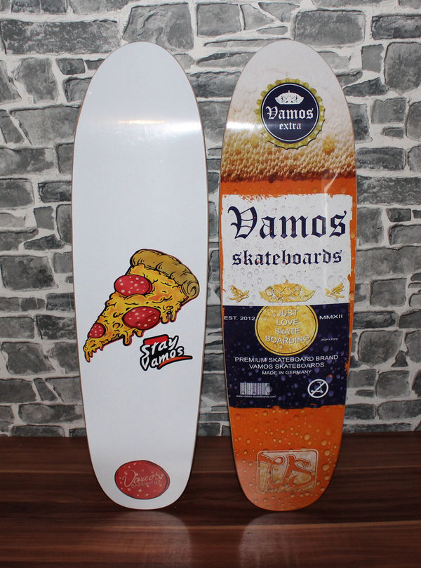 VAMOS SKATEBOARDS OLDSCHOOL DECK - Bro Shape (Sold Out)