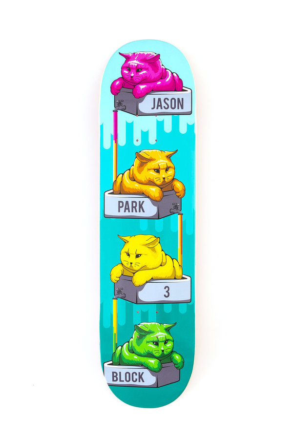 3 BLOCK Jason Park Stacks of Cats Deck (Sold Out)