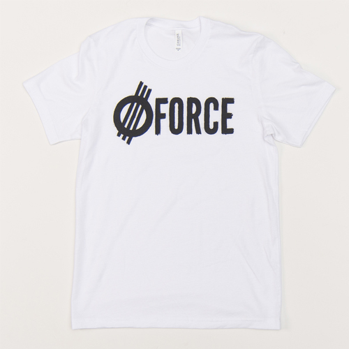 FORCE GRITTY WHITE T-SHIRT