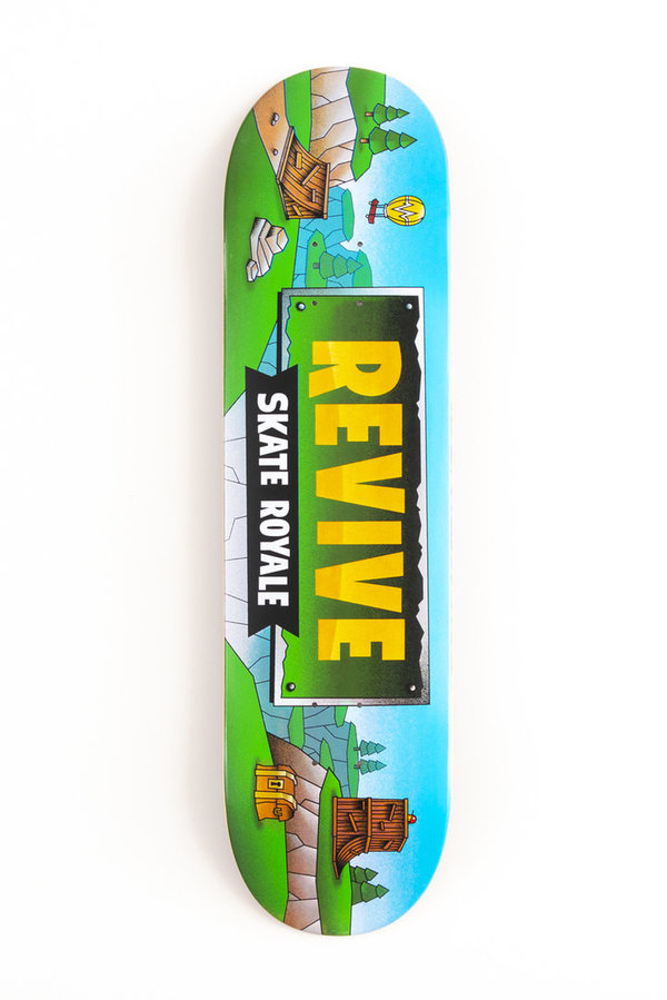 REVIVE SKATE ROYALE DECK (Sold Out)