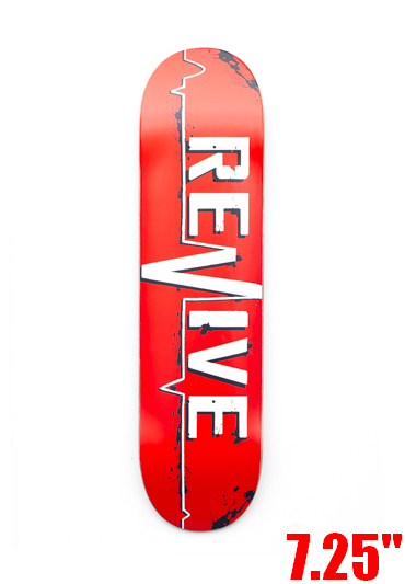 REVIVE RED LIFELINE YOUTH DECK 7.25""
