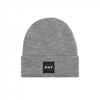 HUF BEANIE Box Logo Grey Heather