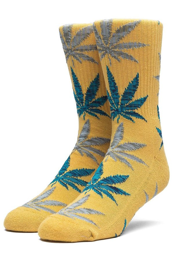 HUF Socken Melange Leave Honey Mustard