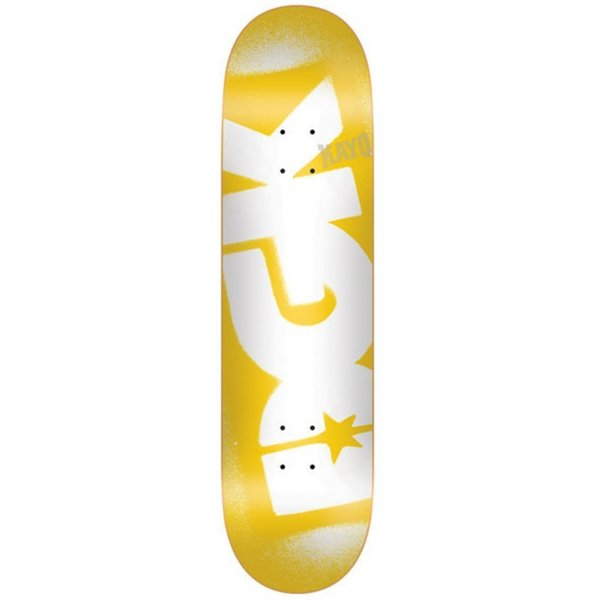 DGK New Price Point Yellow Deck 8.25