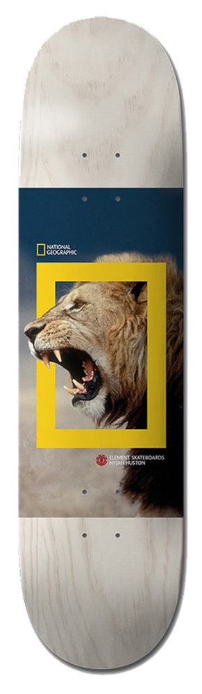 ELEMENT NYJAH HUSTON Nat Geo Lion Deck 8.00""