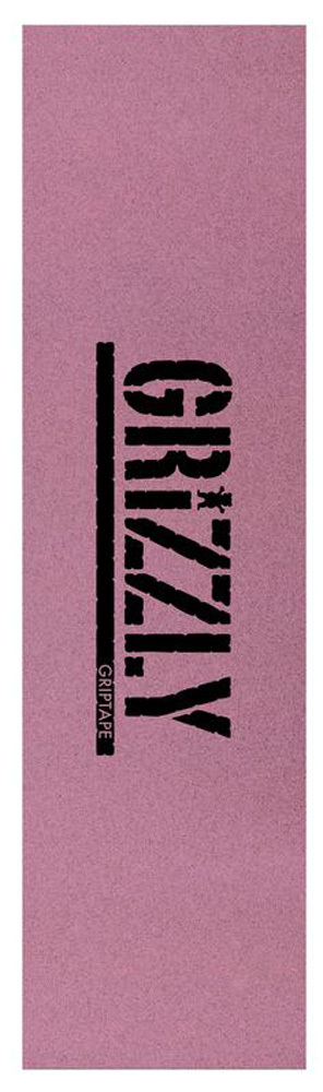 GRIZZLY GRIPTAPE TINTED STAMP Pink/Black