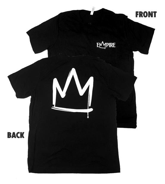 EMPIRE BIG CROWN T-SHIRT Black