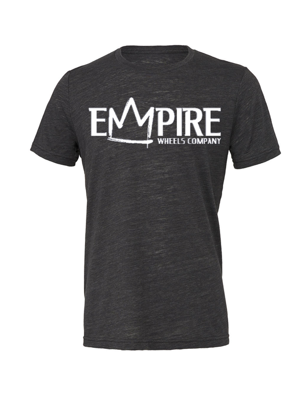 EMPIRE T-SHIRT Charcoal marble