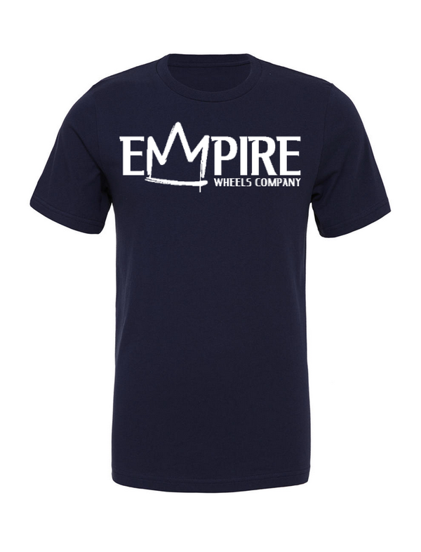 EMPIRE T-SHIRT Navy marble