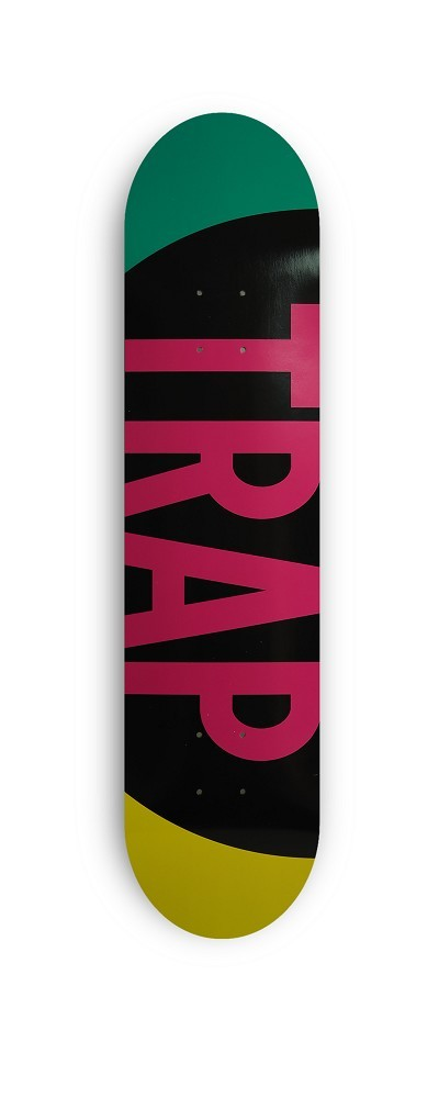 TRAP PP Big Logo 17 Turqiouse/Yellow Deck 8,2""