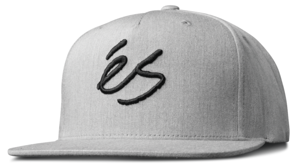 ES SNAPBACK SCRIPT Grey/Heather