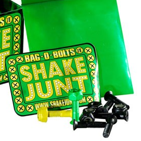 "SHAKE JUNT 1"" KREUZ HARDWARE Green/Yellow/Black Phillips"
