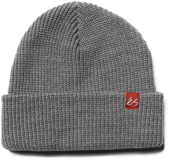 éS BLOCK BEANIE Grey/Heather