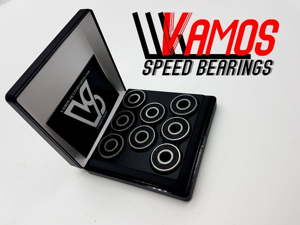 VAMOS SKATESHOP ABEC-7 BLACKZ Bearings