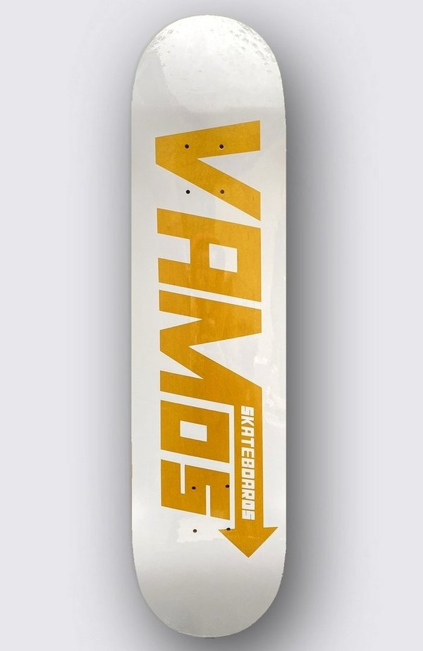 VAMOS VM1 YELLOW SPEED STAINED Deck (Sold Out)