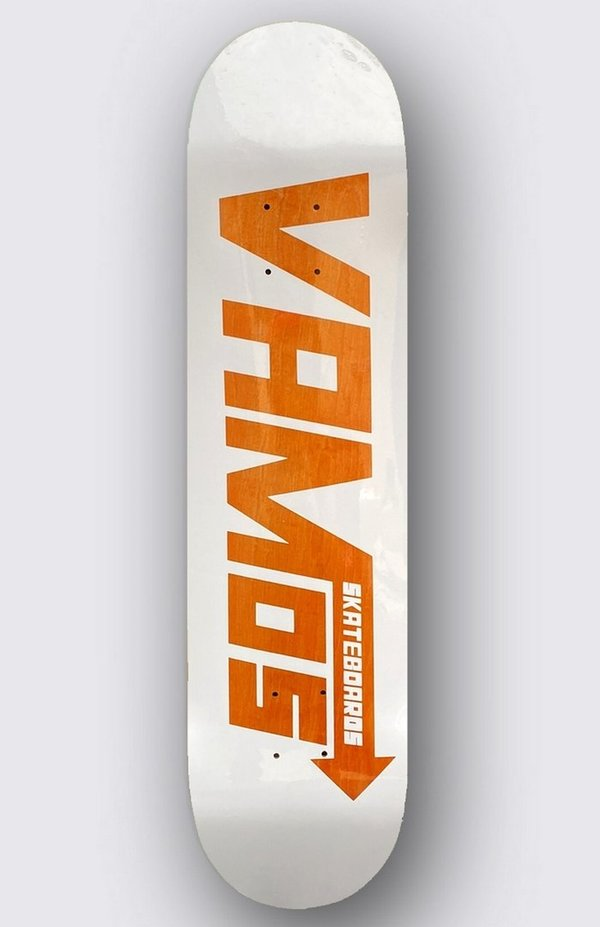 VAMOS VM1 ORANGE SPEED STAINED Deck 8.50 (Sold Out)