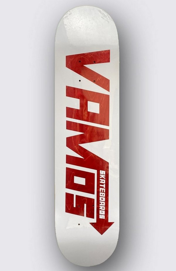 VAMOS VM1 RED SPEED STAINED Deck (Sold Out)