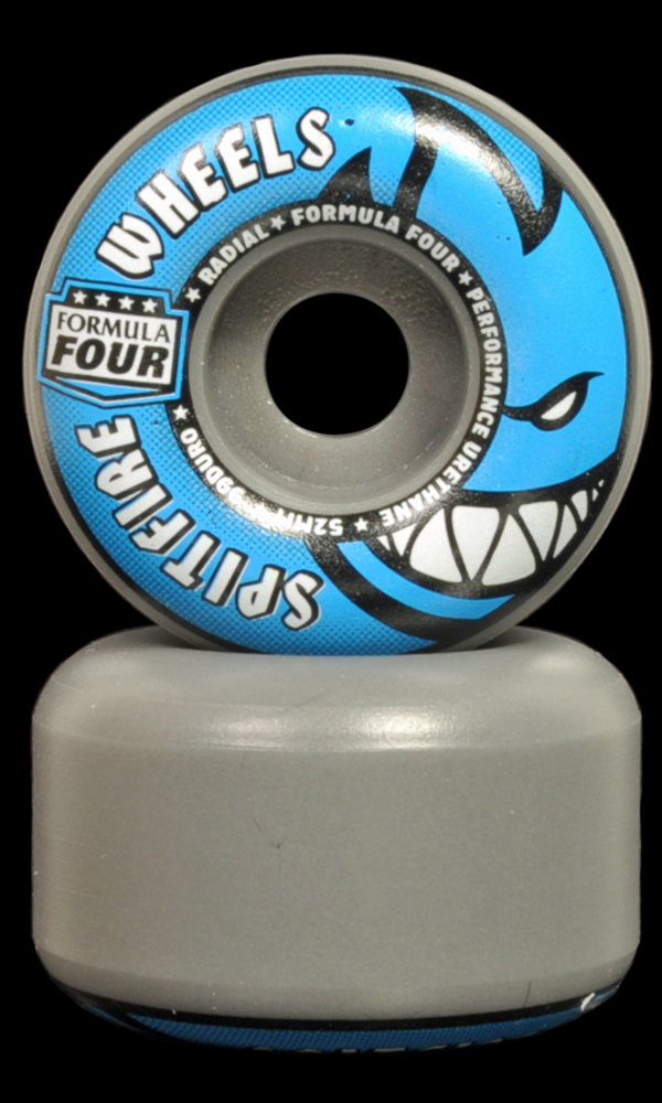 SPITFIRE F4 Radials 52mm 99A Grey/Blue