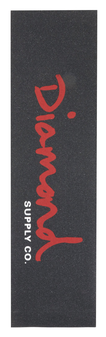 Diamond OG Script Red Griptape 9""