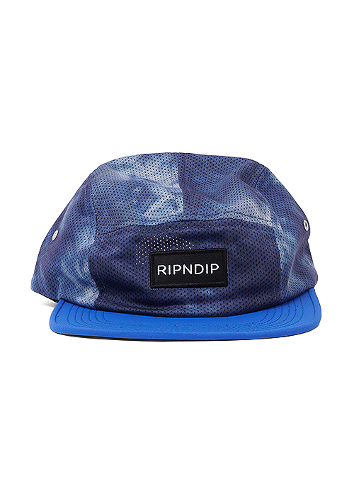 RIPNDIP Camp Aqua 5 Panel Cap