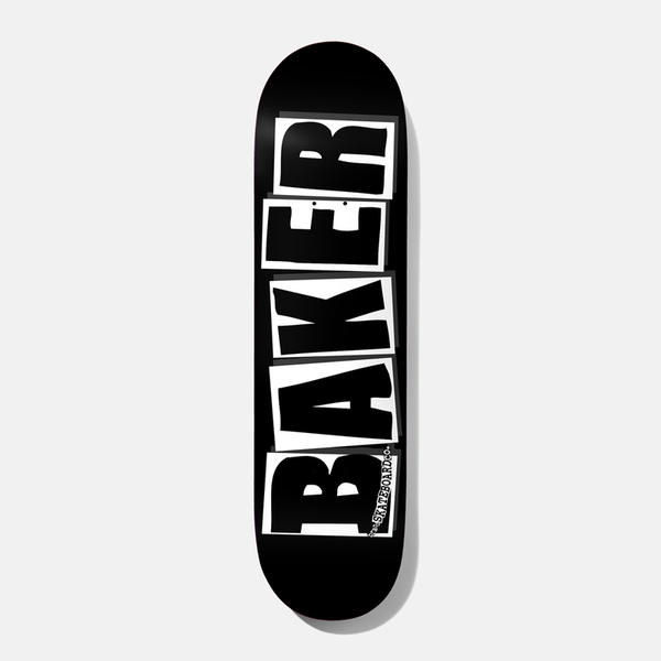 "BAKER BRAND LOGO Deck 8,00"" black/white"