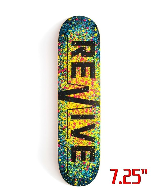 REVIVE SPLATTER 3.0 YOUTH DECK 7.25""