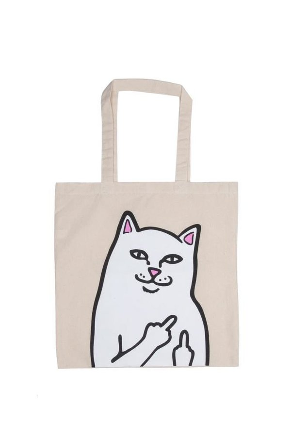RIPNDIP Lord Nermal Tote Bag Natural / Tragetasche