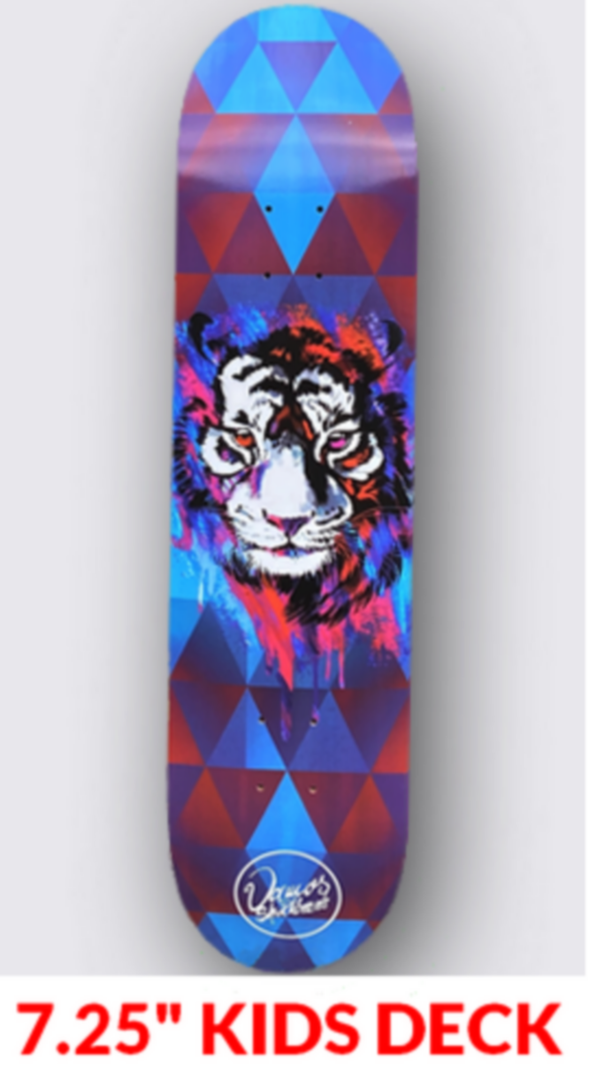 "VAMOS 7.25"" KIDS DECK TIGER"