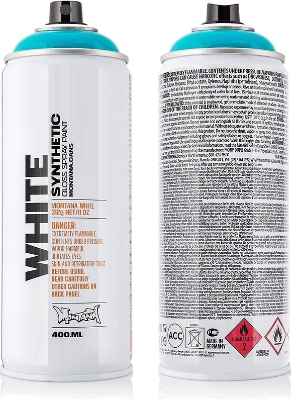 Montana WHITE 400ml WHT 6220 Wave