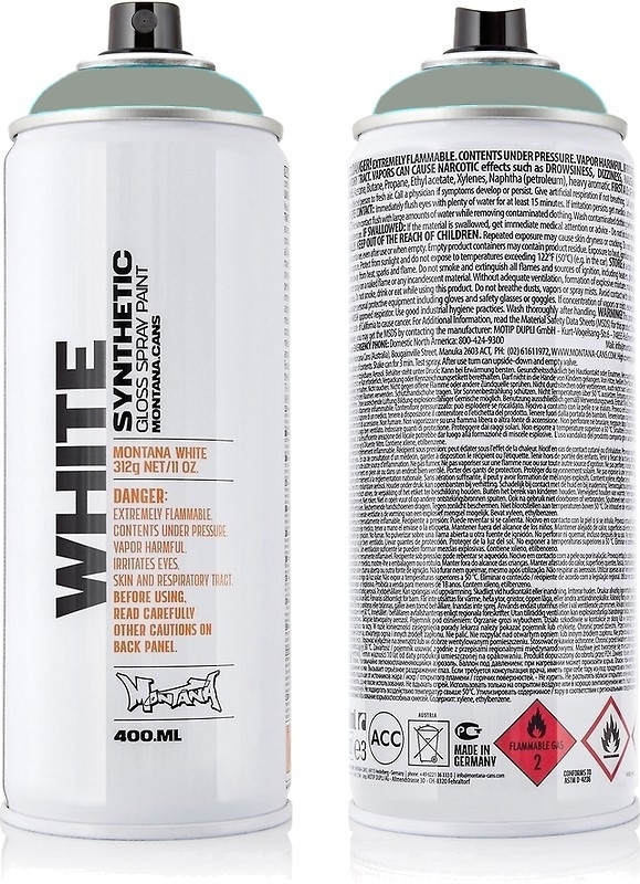 Montana WHITE 400ml WHT 7050 Street