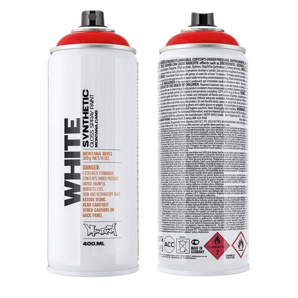 Montana WHITE 400ml WHT 3010 Chilli