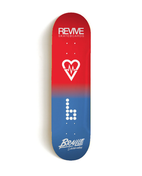 REVIVE X BRAILLE COLLAB DECK