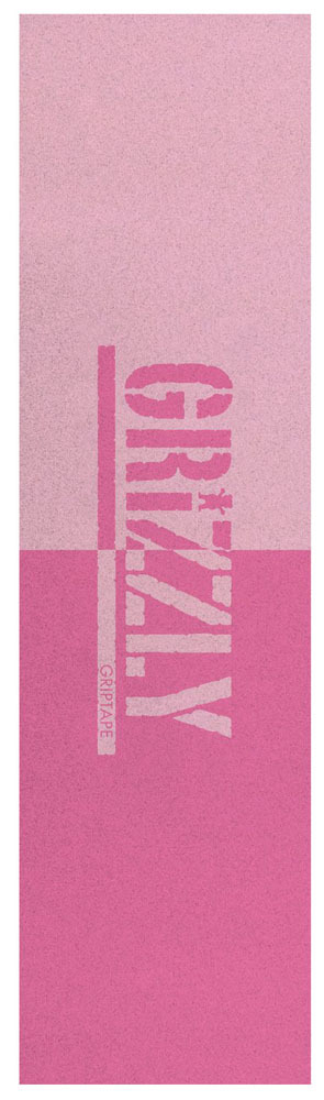 GRIZZLY SPLIT STAMP Pink Griptape