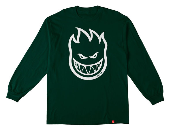 SPITFIRE BIGHEAD Longsleeve Forest Green/White (Sold Out)