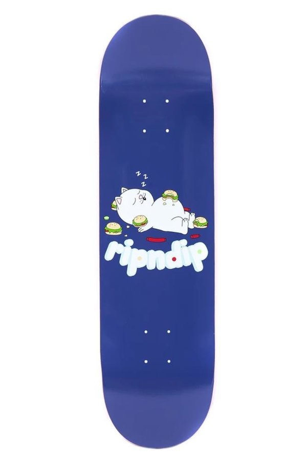 RIPNDIP Fat Hungry Baby Deck Purple 8.25""